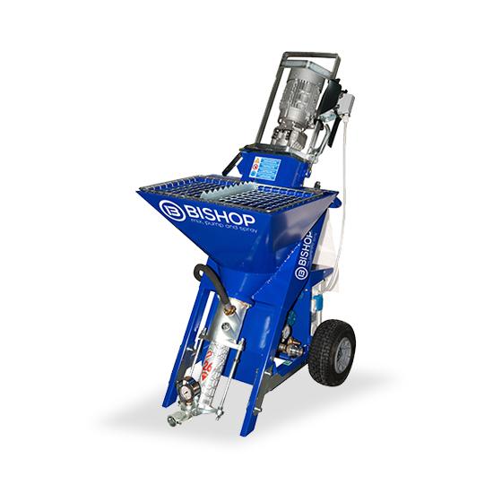 Maquina pequeña perfecta para trabajos de autonivelante