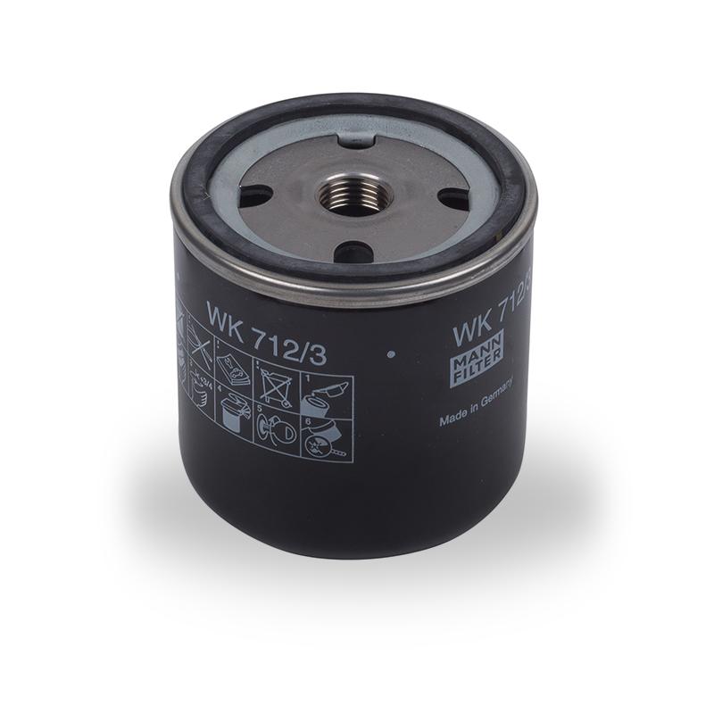 filtro de gasoil para motor negro FOCS