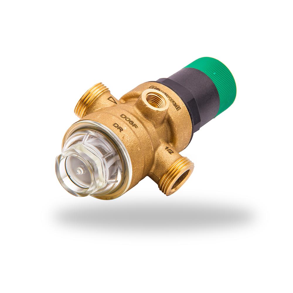 regulador de presion con plastico verde R 1:2