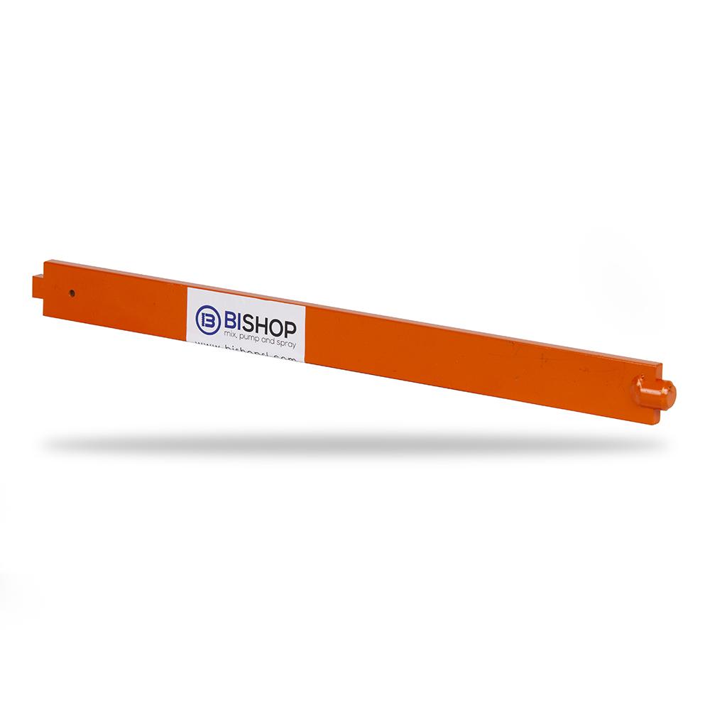 barra de limpieza de color naranja