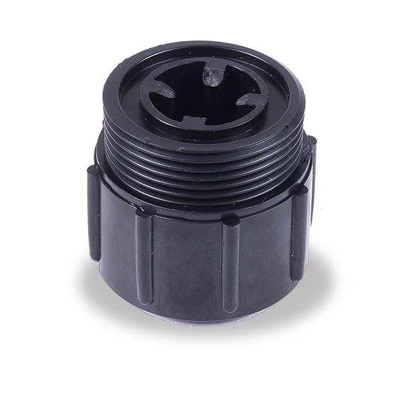 rosca de plastico negro dosificadora