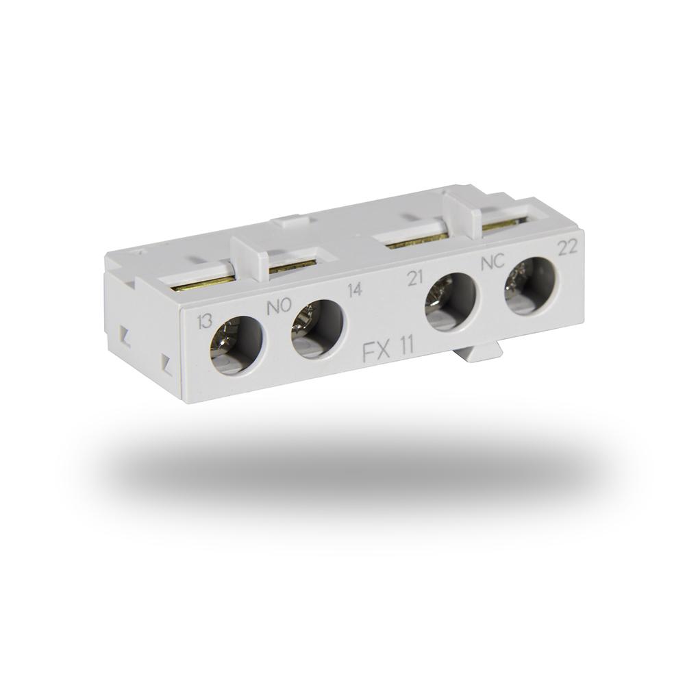Conector Auxiliar Empotrable para conexiones electricas de maquinas
