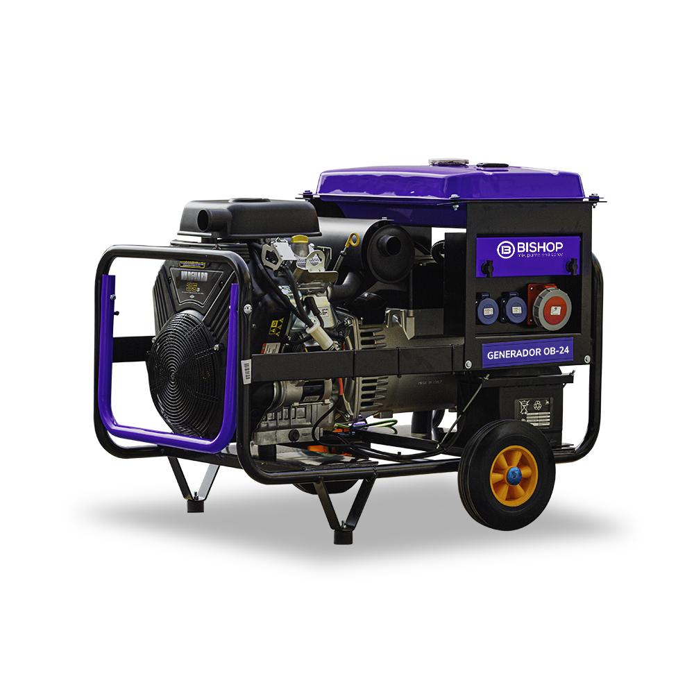 generador de electricidad para maquinas de proyectar y bombear yeso y mortero