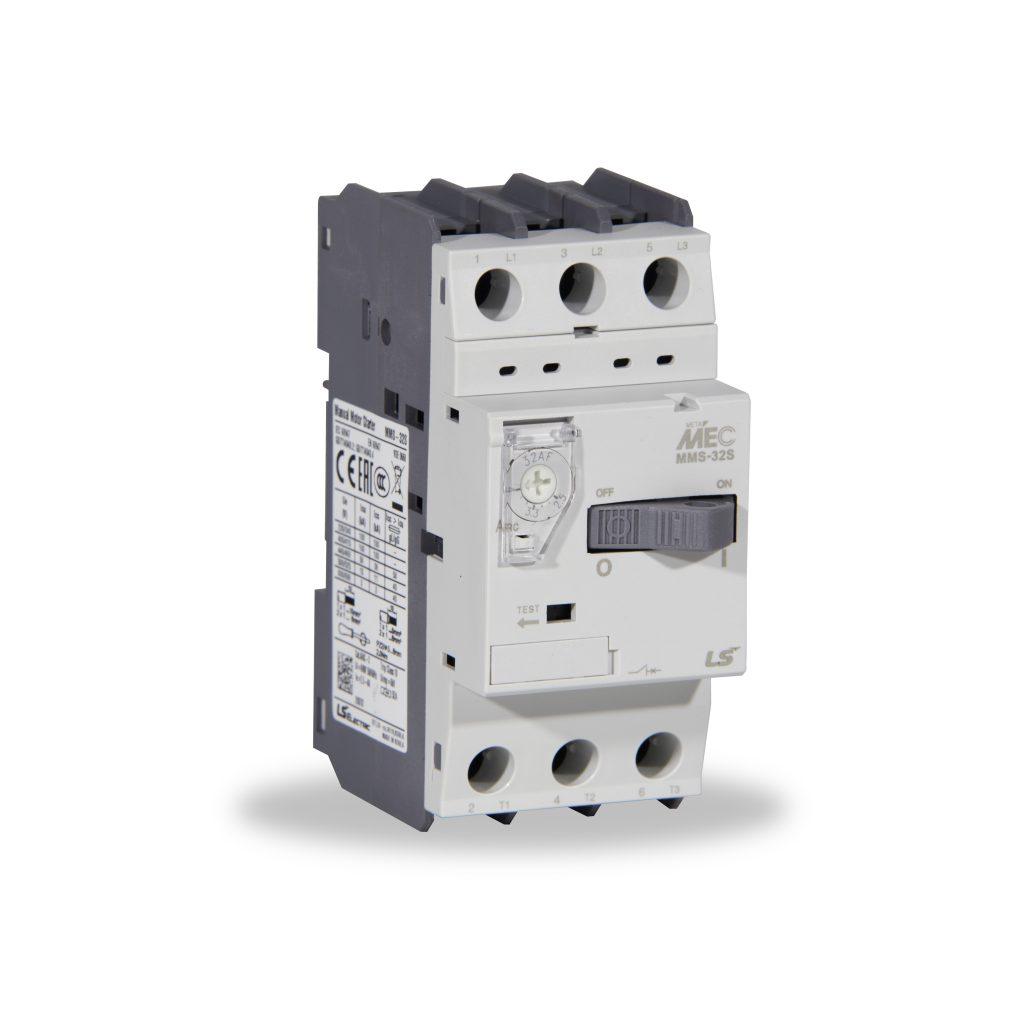 Guardamotor 0-4 Q2-Q3 para conexiones electricas de maquinas