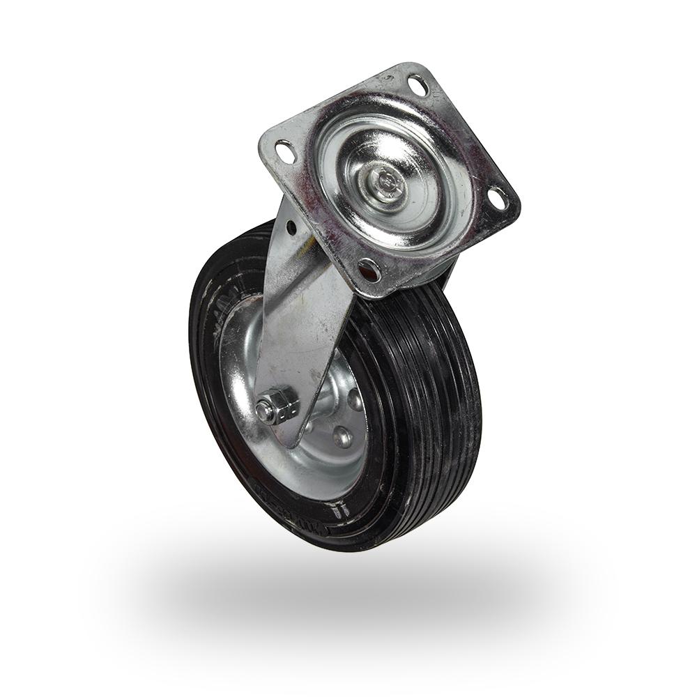 rueda de maquina con plataforma sin freno