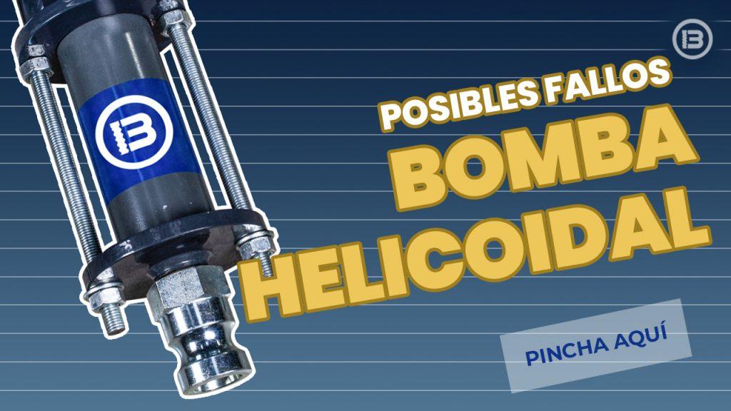 Portada del post de posibles fallos de bomba helicoidal