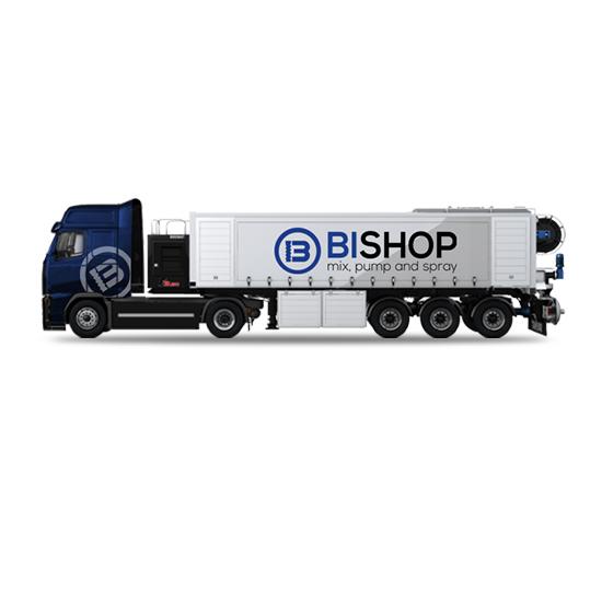 Camion especial para trabajos de solado