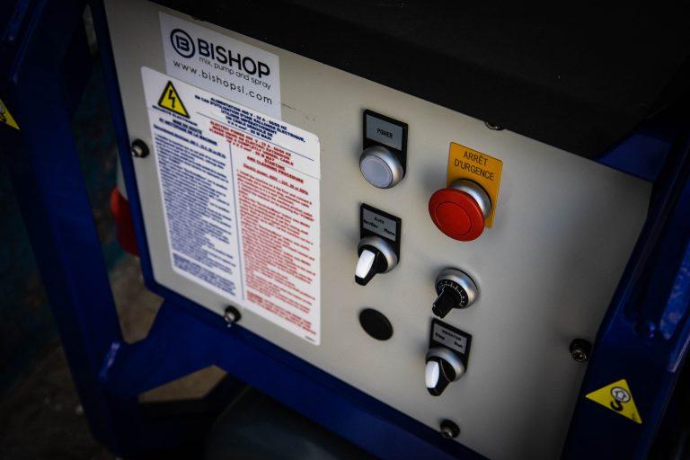 cuadro eléctrico de la maquina OB-PRO 100 X
