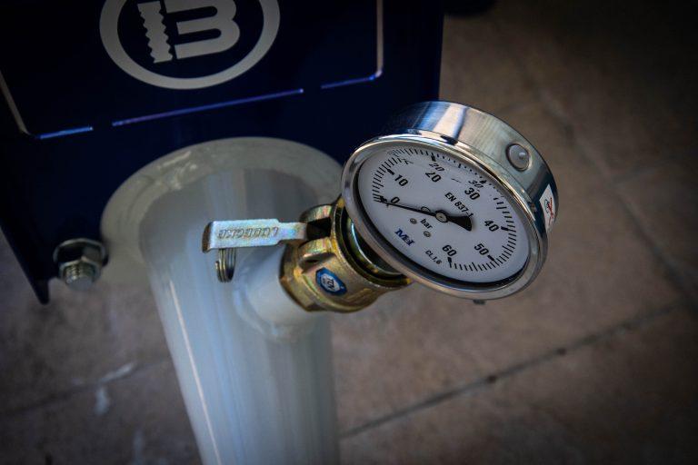 manometro de la maquina OB-PRO 100 X